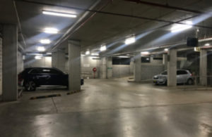 East Quarter car park after LED lighting up-grade