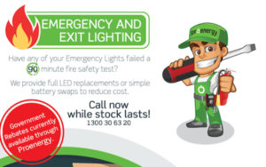 Get Dan the Man to fix your Emergency lights